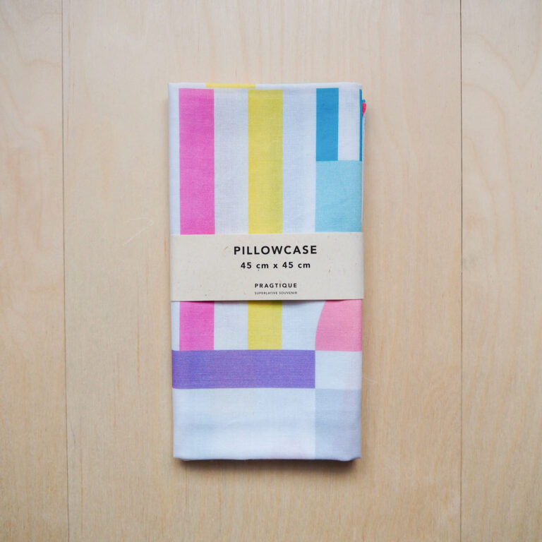 barevný povlak na polštář